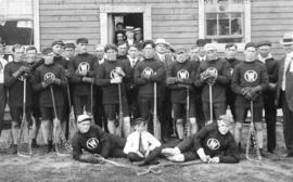 New Westminster Lacrosse Team 1910 World's Champions Defenders of the Minto Cup