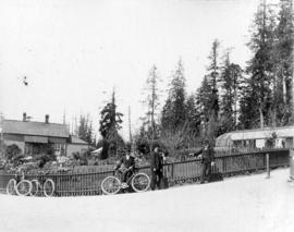 [Unidentified men at Stanley Park]