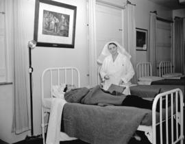 A.R.P. casualty practice [at] Shaughnessy Hospital