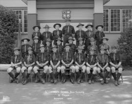 "St. George's School Boy Scouts ""A"" Troop - Summer 1954"