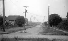 [View of Cornwall Street, looking west from Chestnut Street]