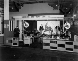 Bowring Brothers display of clothing and accessories