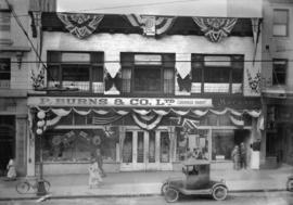 P. Burns & Co. Ltd. [exterior view, 817 Granville]