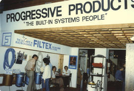 Filtex Vacuum Cleaning Systems display booth