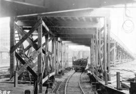 [Automobile ramp and rail-siding at the third CPR station]