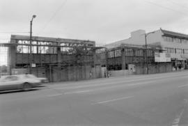 Golden Door commercial building under construction, Main Street
