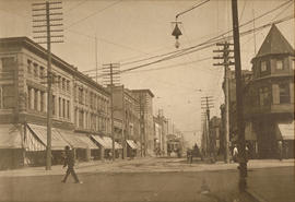 Corner of Hastings and Granville St., Vancouver, 1907