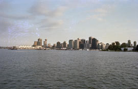 Vancouver skyline from Coal Harbour