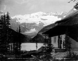 Lake Louise and Chalet, Rocky Mountains, C.P.R.