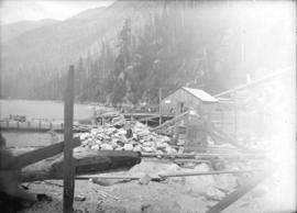 [Buntzen Lake Power Plant number one construction site]