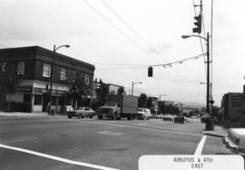 Arbutus [Street] and 4th [Avenue looking] east