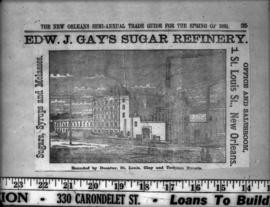 Planters Sugar Company Edward J. Gay's refinery