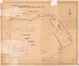 Plan of Lot 6311, Vancouver, B.C. fronting on Kitsilano Indian Reserve No. 6
