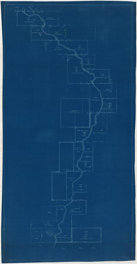 Cadastral map of upper Seymour Creek