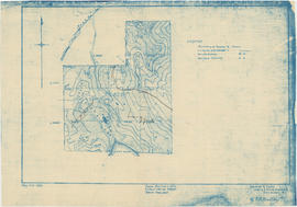 Map of T.L. 8219, north of Lost Lake
