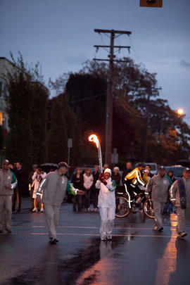 Day 001, torchbearer no. 120, Rebecca Mand - Oak Bay