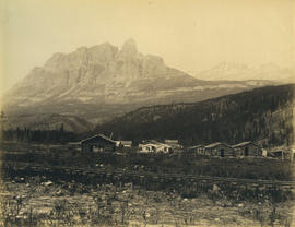 Castle Mountain and Silver City