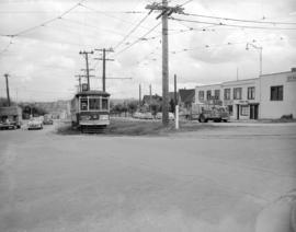[Electric streetcar at] Dunbar and 16th Avenue