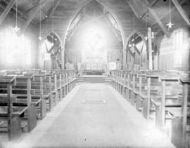 [Interior of renovated St. Paul's Church at 1222 Hornby Street]