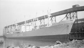 M.S. Hodakasan Maru [at dock]