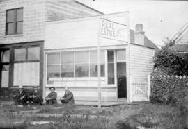 [Exterior of Grimmett Bros. Real Estate office - 3324 Westminster Avenue (Main Street)]