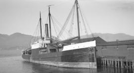 [S.S.] John C. Kirkpatrick [at dock]