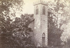 [Unidentified church tower]