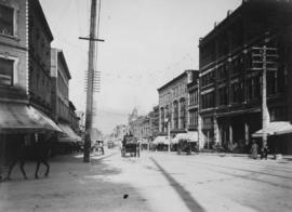 [View of Granville Street, north of Georgia Street]