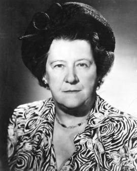 [Mrs. F.J. (Tilly Jean) Rolston President, Vancouver Council of Women]