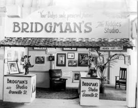 Bridgman's Studio photography display