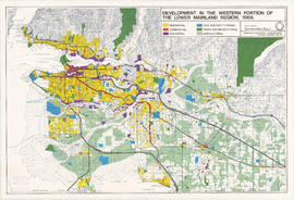 Development in the western portion of the Lower Mainland region, 1968