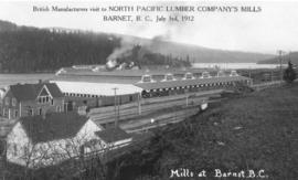 British Manufacturers Visit to North Pacific Lumber Company's Mills