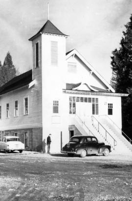 [Exterior of Haney Christian Reformed Church]