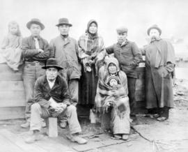 [A group of unidentified First Nations people]