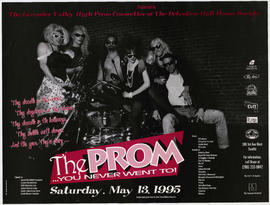 The prom you never went to : Saturday, May 13, 1995 : presented by The Lavender Valley high Prom ...