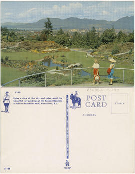 [Two girls at Queen Elizabeth Park]