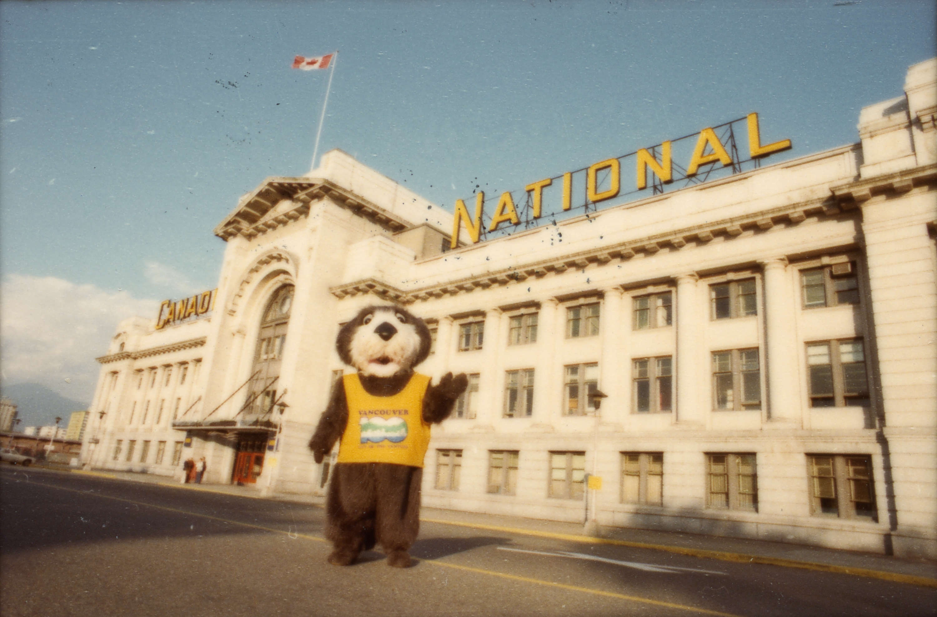 Vancouver's Centennial Mascot was Tillicum the Sea Otter