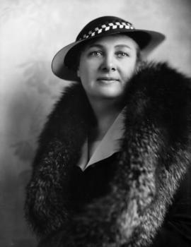 Mrs. G.G. McGeer, Mayoress of Vancouver, 1935-1936
