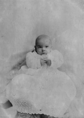 [Unidentified portrait of a baby]