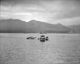 Wrecked Seaplane in Burrard Inlet