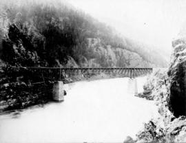 C.P.R. Cantilever Bridge over the Fraser [River]