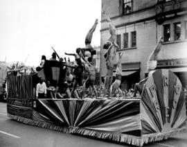 Pro Rec float in 1949 P.N.E. Opening Day Parade