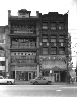 [108 East Pender Street and 112? East Pender Street], Chinatown