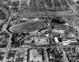 Aerial photograph of P.N.E. grounds