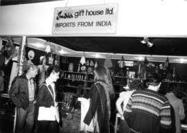India Gift House display of imported goods