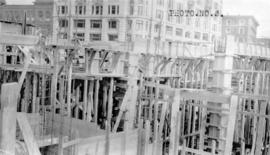 [Job no. V-9, 9a] : photo no. 3 : [photograph of construction site for Imperial Oil service stati...