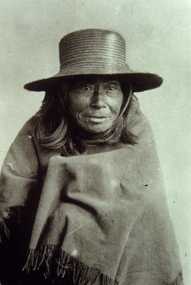 """Daisy Belle"" [Portrait of First Nations woman]"