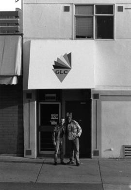 Entrance to The Gay and Lesbian Community Centre at 1170 Bute Street