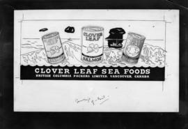 "Neon Products ""Clover Leaf Sea Food"""