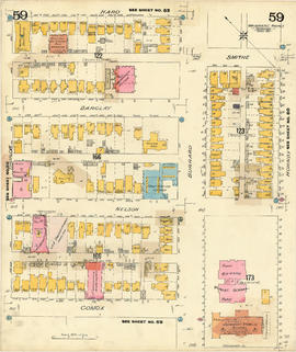 Plate 59 [Hornby Street to Haro Street to Thurlow Street to Comox Street]